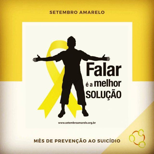 Setembro amarelo ms de preveno ao suicdio Estejamos atentas ehellip